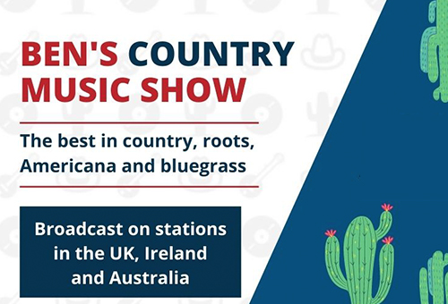 Logo for Ben's Country Music Show.